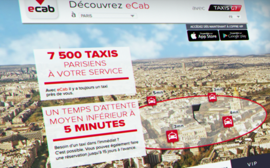 Ecab - Ecab / taxis G7: the best of taxi on smartphone in Paris, France and Europe