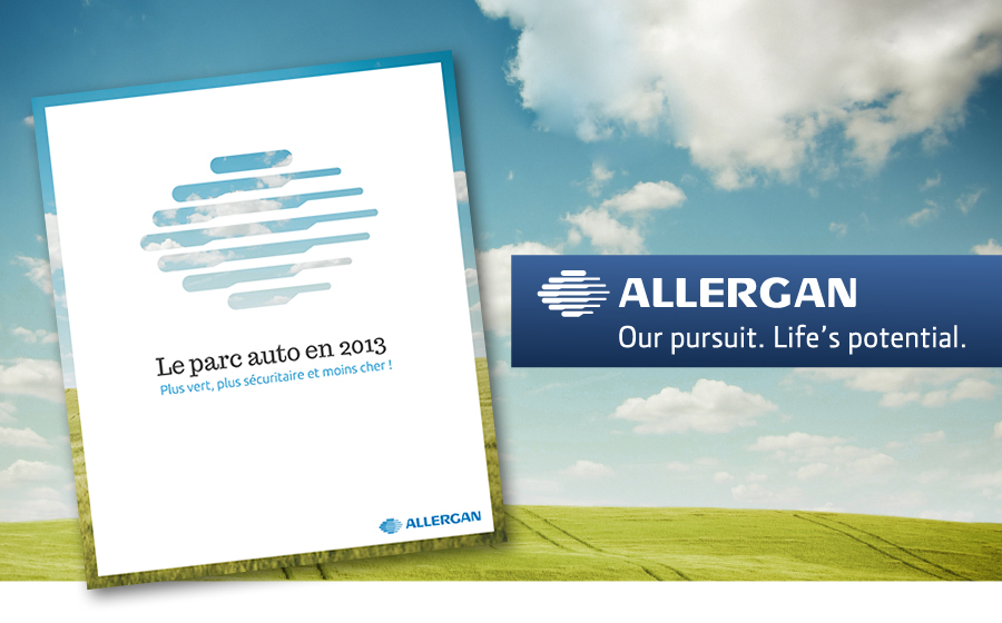 Allergan - Allergan: Greener , safer and cheaper!