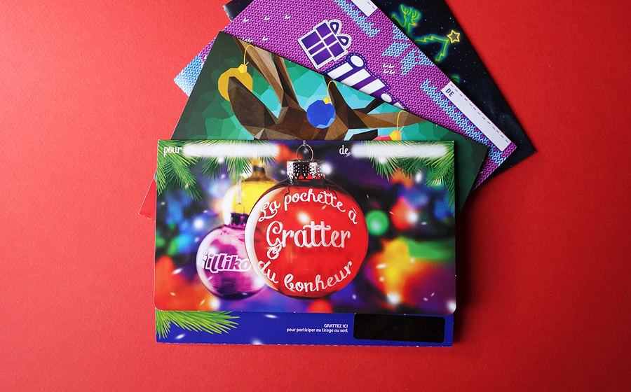 FDJ - Pochettes Cadeaux - Fdj / illiko: it's party with gift cards !