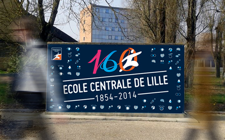 Centrale Lille - 160 ans - Centrale lille: celebrate an event by questioning his past and his future