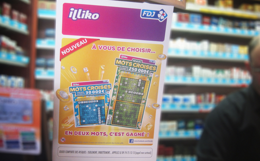 Mots Croisés / FDJ - Fdj / illiko: Expand a range of crosswords scratch games