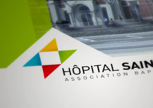 hôpital saint jean: Make visible to adhere